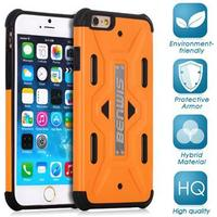 iPhone 6 / 6s BENWIS Cool Armor Håndværker Etui Orange