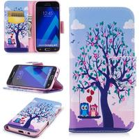 Samsung Galaxy A5 (2017) Lovely Owls Cover m. Pung