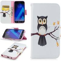 Samsung Galaxy A5 (2017) An Owls On a Branch Cover m. Pung