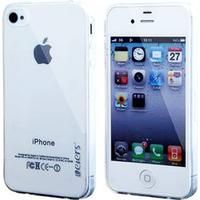 iPhone 4/4s Leiers Thin Ice Series TPU Cover Gennemsigtig