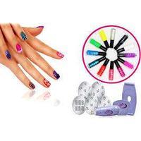 Eurobatt Nagel design kit - Nail art stamping kit!