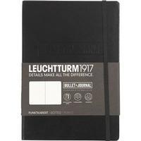Övriga Tillverkare Bullet journal - Svart notisbok - A5 14x21 cm