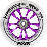 Slamm Scooters Slamm Flair Lilla 100mm ALU hjul - 1 stk