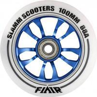 Slamm Scooters Slamm Flair Blå 100mm ALU hjul - 1 stk
