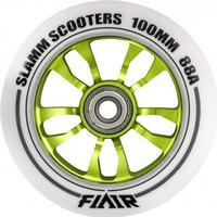 Slamm Scooters Slamm Flair Grøn 100mm ALU hjul - 1 stk