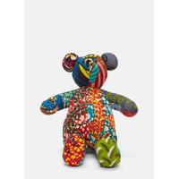 African Pattern Teddy 2 in Multicolour