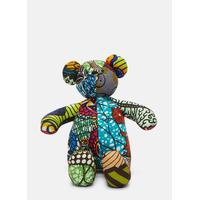 African Pattern Teddy 10 in Multicolour