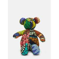 African Pattern Teddy 4 in Multicolour