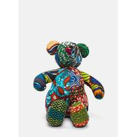 African Pattern Teddy 14 in Multicolour