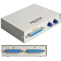 DeLOCK DATA Switch 2-port Parallel manuell