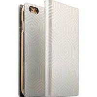iPhone 6/6S SLG Design D4 Metal Hologram Flip Cover - Sølv