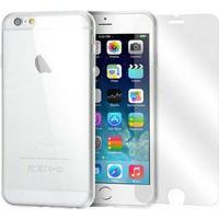 iPhone 6/6S Moxie Full Beskyttelsessæt - Gennemsigtig