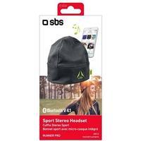 SBS Runner Cap Headphones Gray