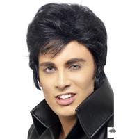 Smiffys Elvis Wig Black29