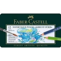 Faber-Castell - Watercolour pencil Albrecht Dürer tin of 12 (117512)