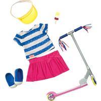 Our Generation dukketøj-sæt med løbehjul