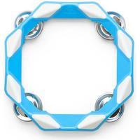 Kid O tamburin, blå