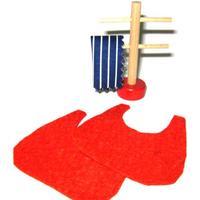 Rülke 21664 Handtuchhalter und Badvorleger 1:12 für Puppenhaus