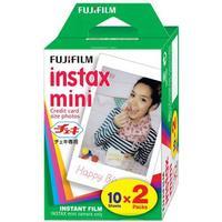 FUJIFILM INSTAX MINI FARVEFILM 2X10