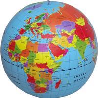 Caly-Toys Maxi Globe oppustelig globus