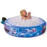 Disney Frozen badebassin - Bubble Tub Ø 105 cm - Lav Frost-badebassinet om til et boblebad på få minutter
