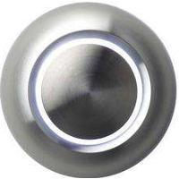 Spore True LED-belyst dörrklockans tryckknapp aluminium/vit