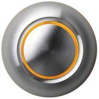 Spore True LED-belyst dörrklockans tryckknapp aluminium/orange
