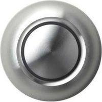 Spore True dörrklockans tryckknapp aluminium (utan belysning)