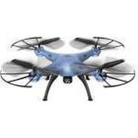 Syma Toys Quad-Copter SYMA X5HW 2.4G 4-Kanal mit Gyro+ Kamera Blau (X5HW BLUE)