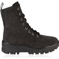 YEEZY Suede Military Boots Black
