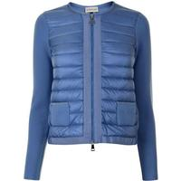 MONCLER Maglia Quilted Jacket Blue 705