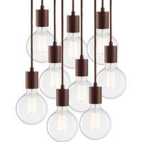 Vintage S9 Pendel Lampe Pære C Mocca - LIGHT-POINT