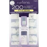 Nailene 200 Full Cover Nails Active Square