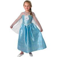 Rubies Disney Frozen, Elsa Maskeradklänning, Deluxe, Large