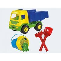 Adriatic Glow2B Germany 1000324 - Sandspielzeug - Lastkraftswagen gefüllt mit Eimergarnitur, 5-teili