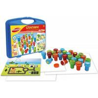 Glow2B Joustra 41518 - Citystempel, 26 Stück im Koffer, Verkehrszeichenstempel,Kinderstempel
