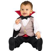 Palmer Agencies Ltd Dracula med Mantel Bebis Maskeraddräkt - One size