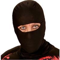 Widmann S.r.l. Ninja Svart Mask - One size