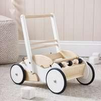 The White Company Wooden Baby Toy Walker