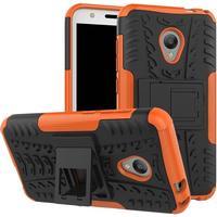 Alcatel U5 Cool Tyre Håndværker Etui m. Stander Orange
