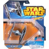 Mattel Hot Wheels Starship Tie Fighter Blue