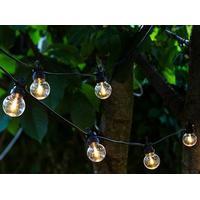 Sirius LED-lyskæde LUCAS forlængerkæde 10 pærer (klart glas)