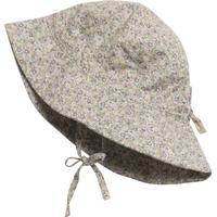 Wheat Baby Girl Sun Cap - Dusty Lilac