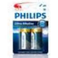 Philips Ultra Alkaline C LR14 2-pack