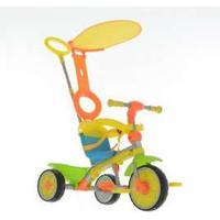 MV Sports Trehjulet cykel - grow and go deluxe - 3-i-1 3-hjulet cykel
