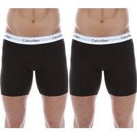 Calvin Klein Modern Cotton 2-pack - Svart - male - Kläder S