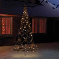 Fairybell LED-Weihnachtsbaum 185 cm, 250 LED und Flash warmweiß FAO-185-250-03
