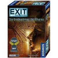KOSMOS Spiele 692698 - Exit - Das Spiel, Die Grabkammer des Pharao, Kennerspiel des Jahres 2017