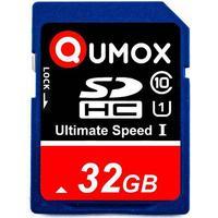 Qumox sdhc 32gb class 10 uhs-i