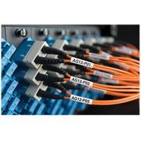 Dymo Etiketter Kabel Laminated 51 x 21mm Svart/Vit 250st - XTL